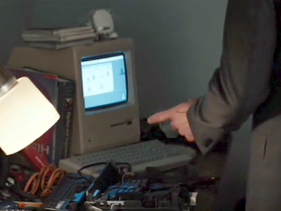 Peter's Macintosh from Captain America: Civil War
